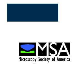 Microscopy resource logos