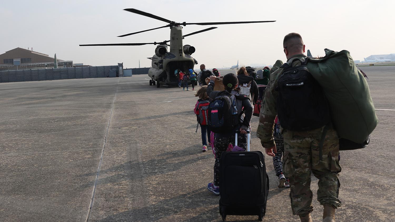 evacuation in South Korea