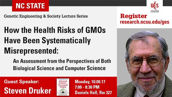 Steven Druker - How Health Risks of GMOs Systematically Misrepresented