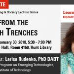 Larisa Rudenko, 1/30, Hunt Library