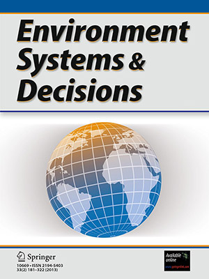 Environment Systems and Decisions cover