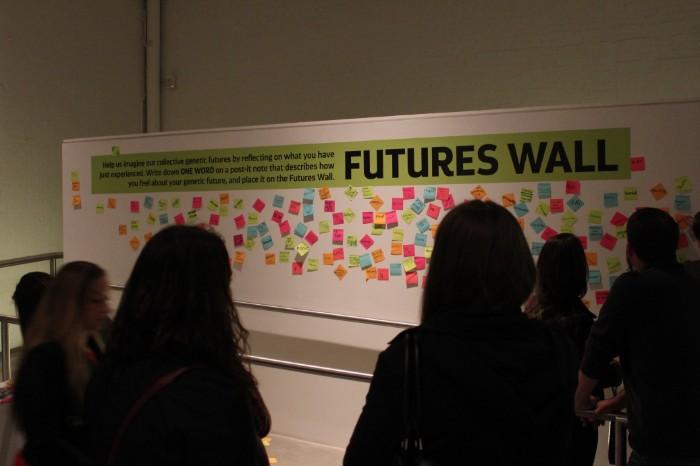 Futures Wall [Credit: Chris Vitiello]