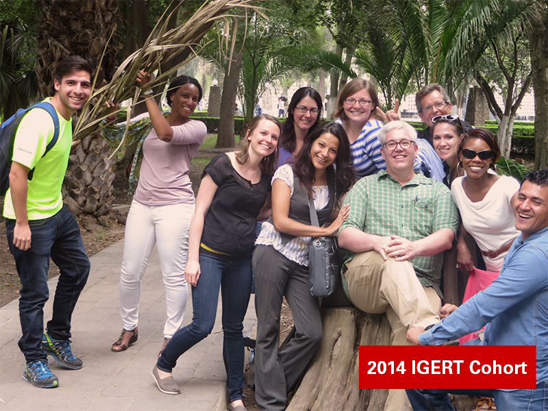 Photograph of IGERT PhD Students