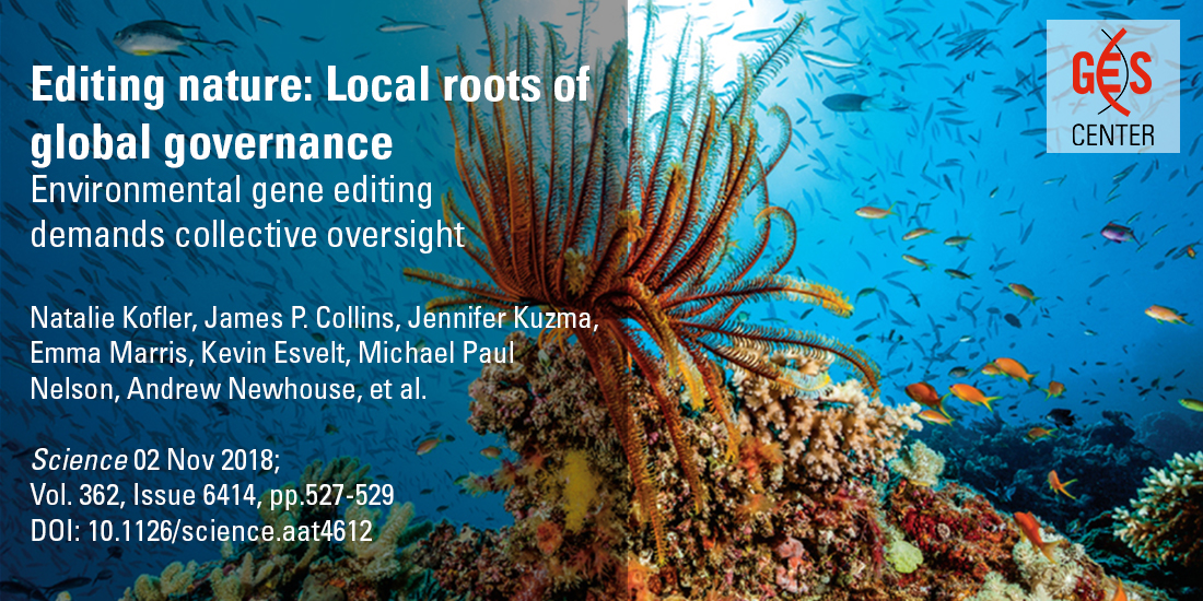 Editing nature: Local roots of global governance