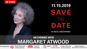 An Evening with Margaret Atwood - Save the Date