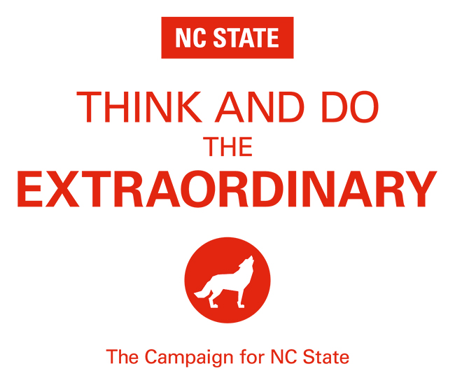 Campaign Button - NC State - Think and Do the Extraordinary