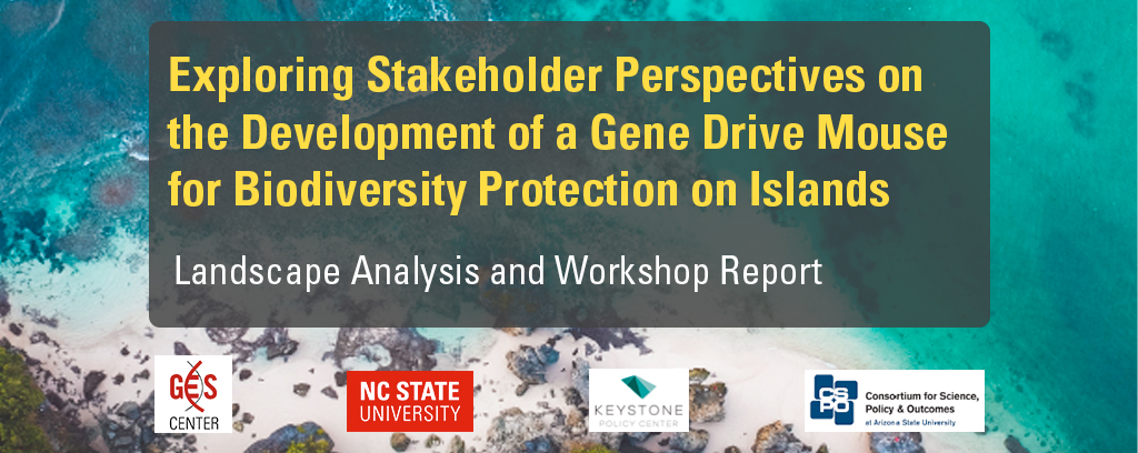 Exploring Stakeholder Perspectives on the Development of a Gene Drive Mouse for Biodiversity Protection on Islands