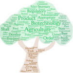 Word cloud created from the language in the Regulation of Ag Biotech Executive Order