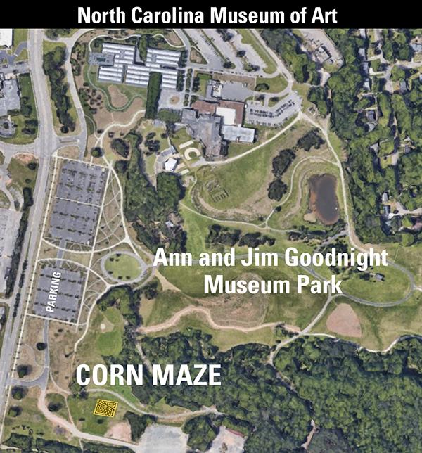 Corn Maze Map