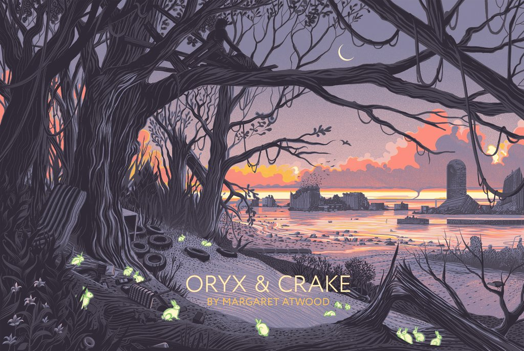 Illustration from Oryx & Crake