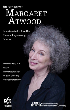 Image of cover of Margaret Atwood event program