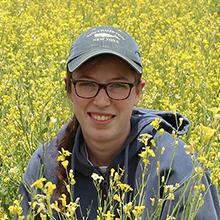 Photo of Sandy Ramsey, Crop Sciences, Advisor - Ramon Leon