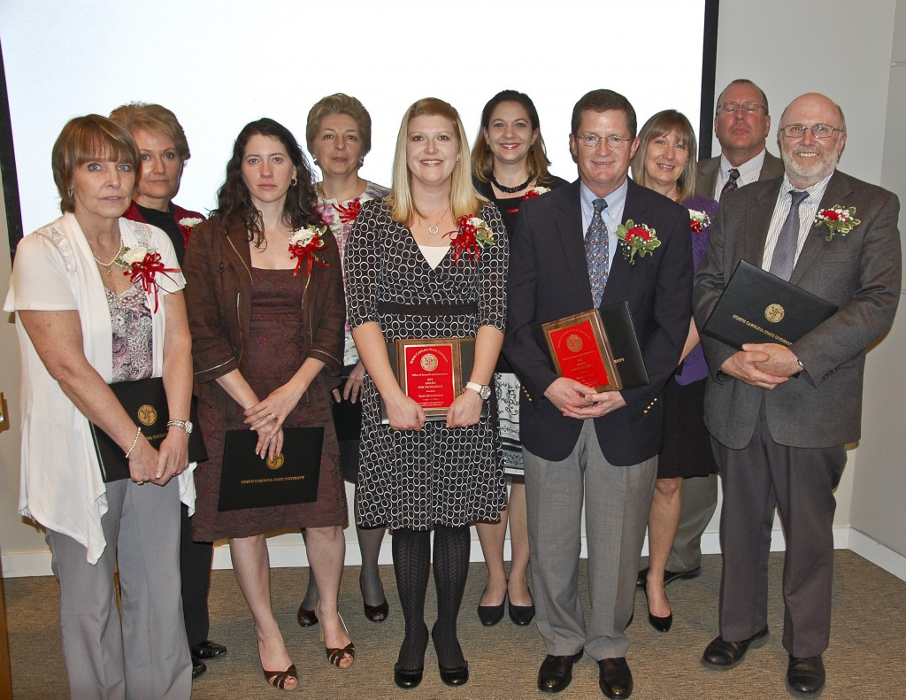 Photo of Staff Honored 2011