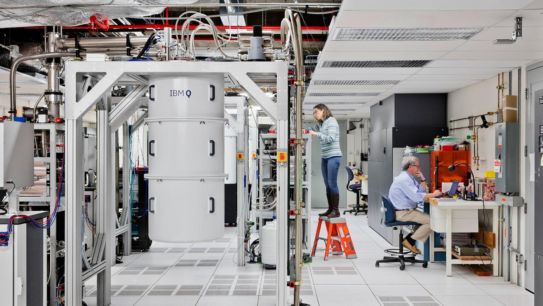 Inside the IBM Q Network.